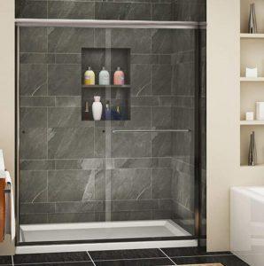 Sunny Shower Semi-Frameless Shower Door