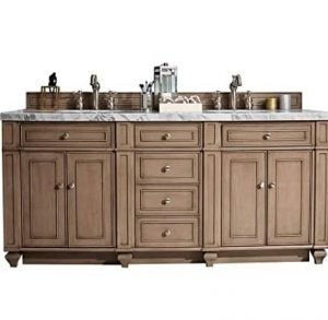 James Martin Furniture Bristol 72 inch Double Vanity