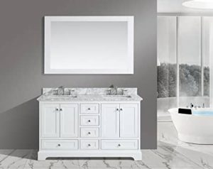 Urban Furnishing Jocelyn 60-Inch Bathroom Sink Vanity Set