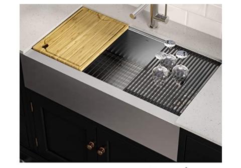 Kraus KWF410-36 KORE Kitchen Sink Single Bowl