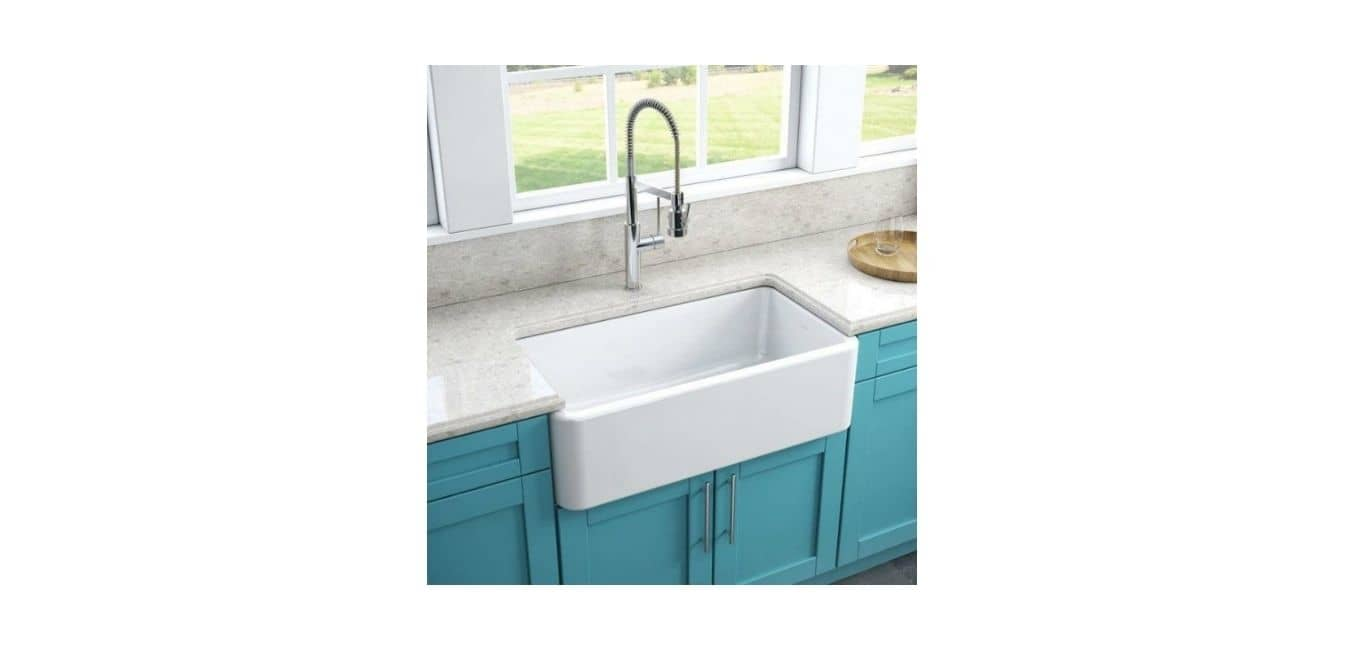 Ceramic (fireclay) kitchen sink