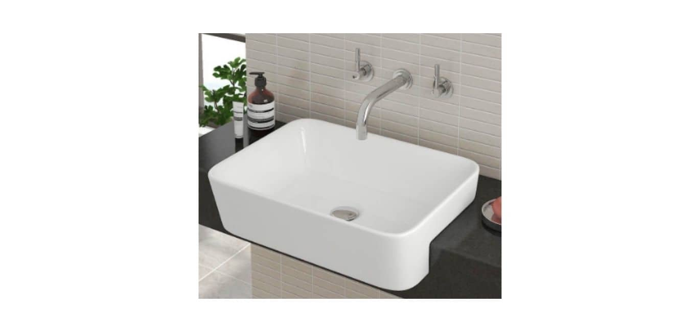 Semi-Recessed Sinks