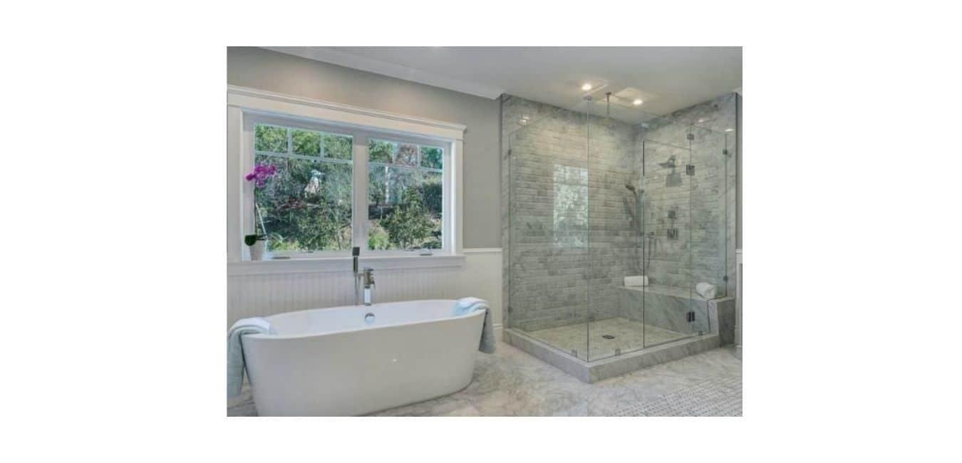Tube shower