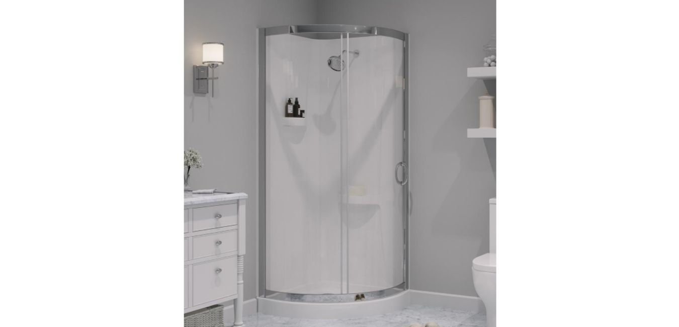 Types Of Material Used In One Piece Shower Stall Kit