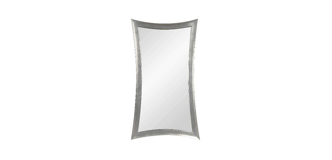 Bassett M1718EC Hour-Glass Shaped Leaner, Silver Extra Large Floor mirror