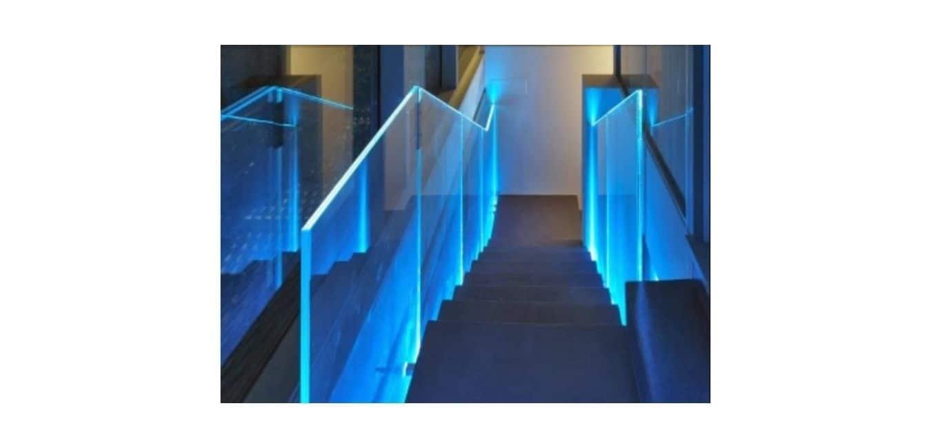 LED Glass Railings