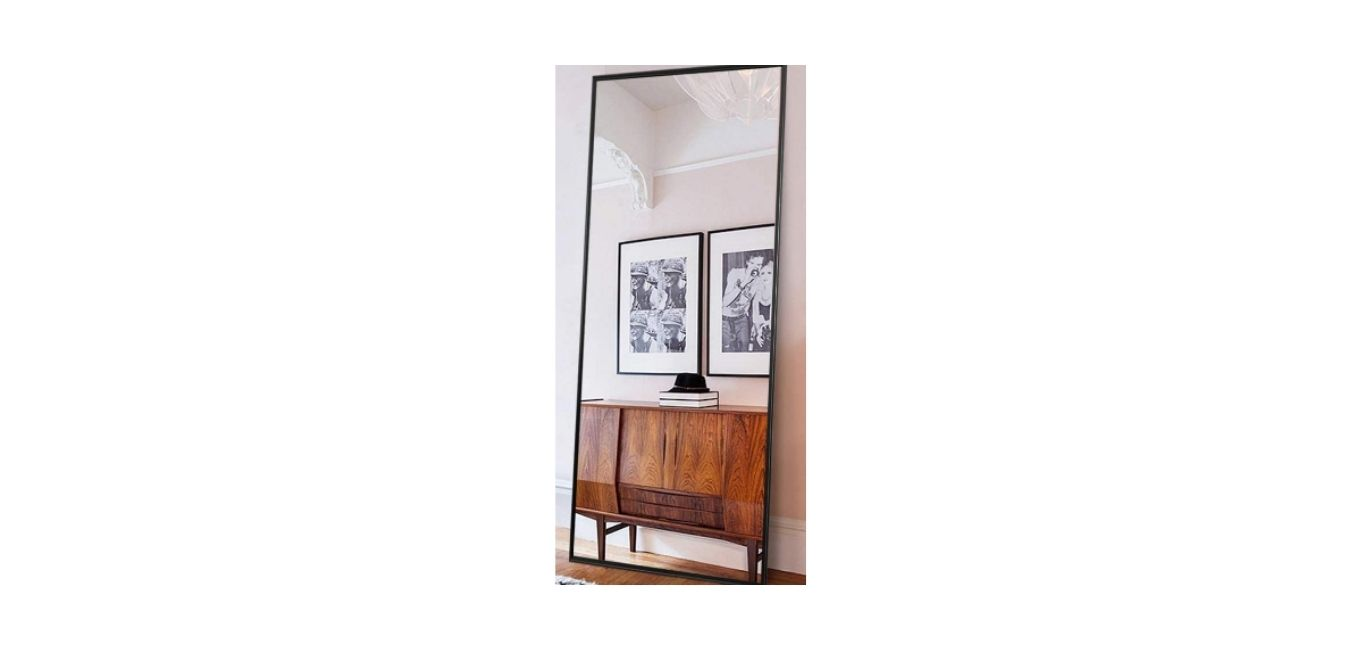 ONXO Full-Length Mirror Large Floor Mirror Standing or Wall-Mounted Extra Large Floor Mirror