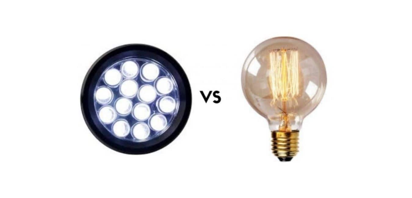 Why are LED garage lights more effective than incandescent light bulbs